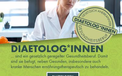 Diätologin … schon mal gehört?