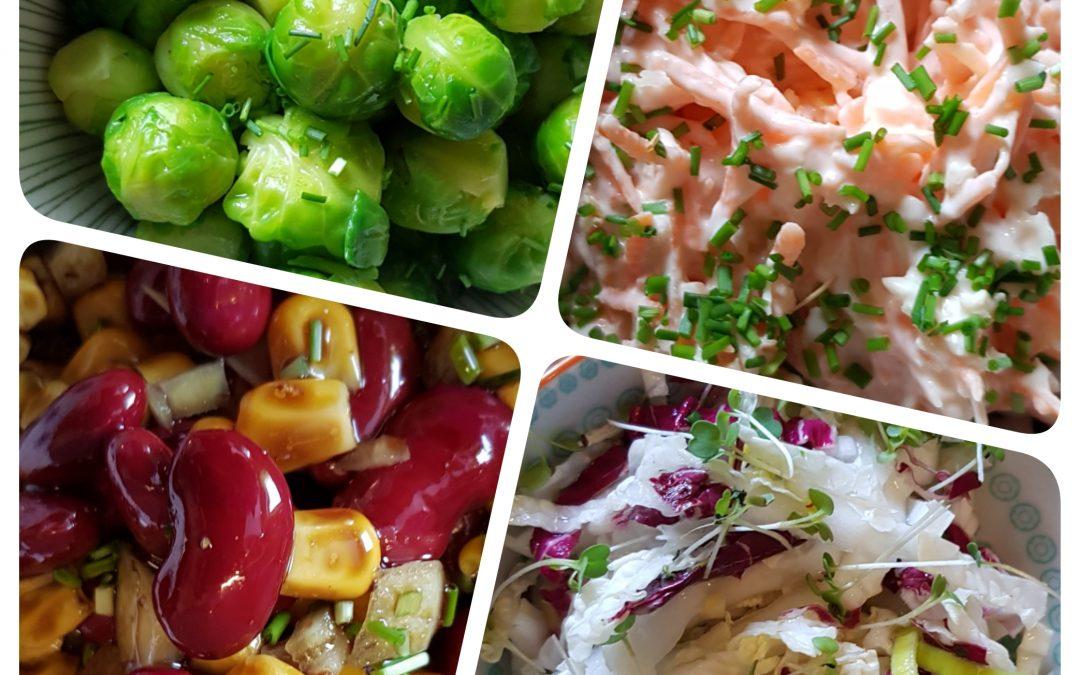 Salatkreationen einfach & saisonal