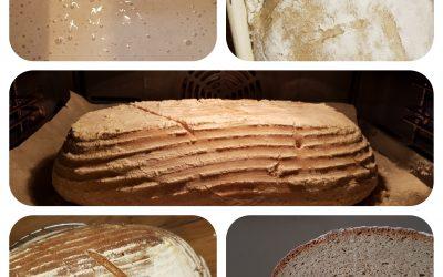 Brot backen total im Trend …